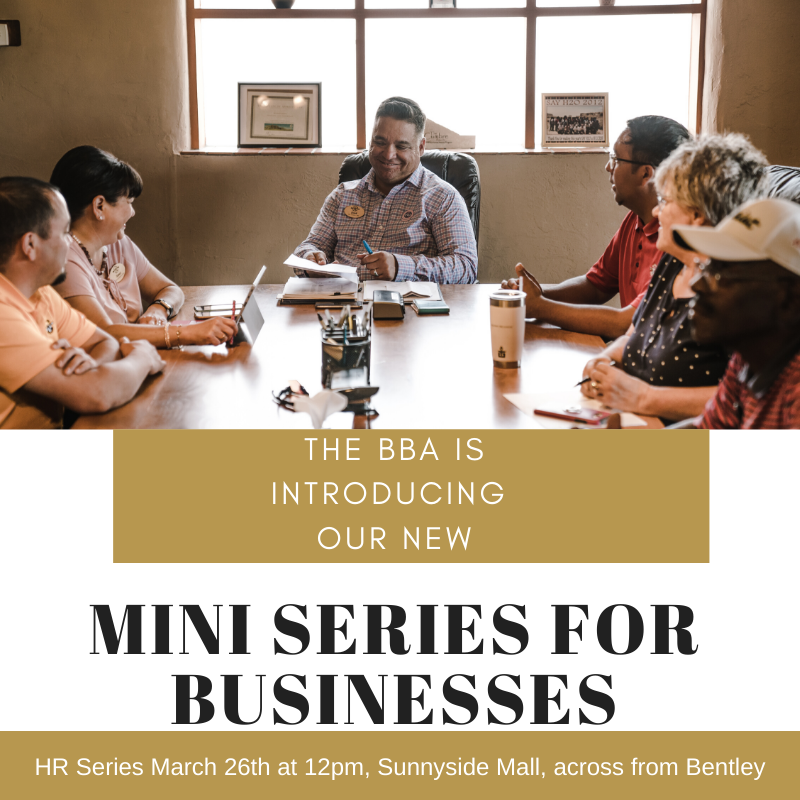 The BBA Mini Series for Bedford Business